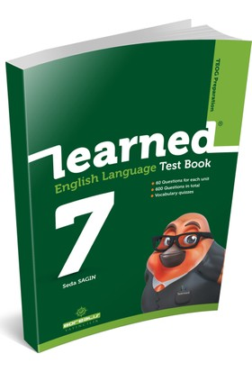 Learned 7. Sınıf / Learned® English Language Test Book
