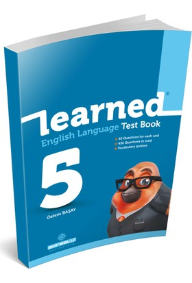 Learned 5. Sınıf / Learned® English Language Test Book