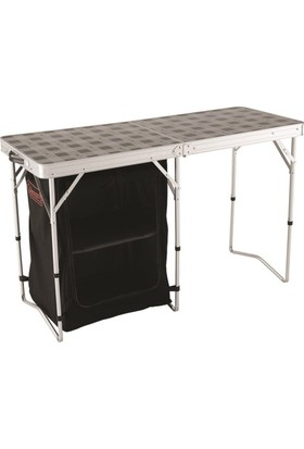 COLEMAN - 2in1 Camp Table and Storage Masa