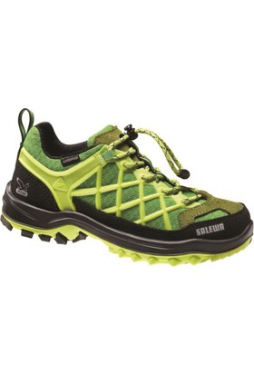 SALEWA - Jr Wildfire Waterproof Ayakkabı Sarı/Yeşil