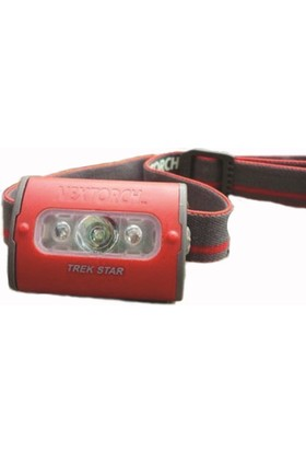 NexTorch - Trek Star Red Kafa Feneri