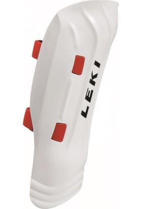 LEKI - Shin Guard WC Pro Junior Çocuk Diz Koruyucu Beyaz