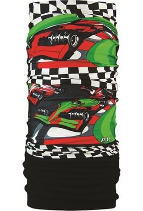 P.A.C - Kids Fleece Race Cars - Çocuk Bandana