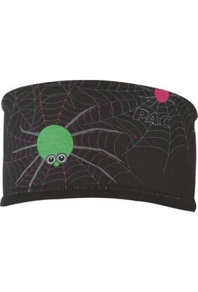 P.A.C - Headband Fleece Kids Neon Spider - Çocuk Bandana
