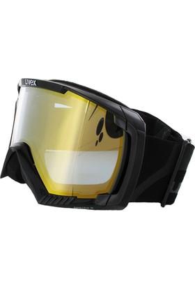 UVEX - Uvex apache II black dl/ltm gold/blue Kayak Gözlüğü