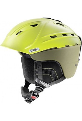 UVEX - P2us mossy green mat 55-59 cm Kask