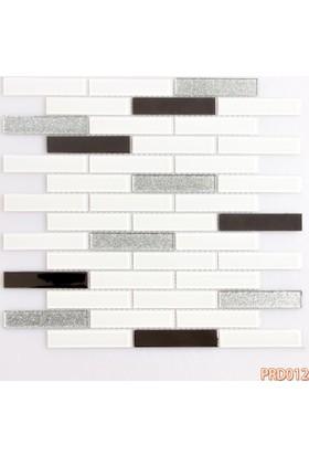 Prado Fileli Kristal Cam Mozaik Metal Kaplama 012
