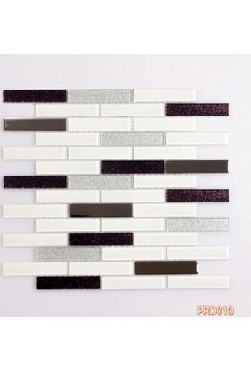 Prado Fileli Kristal Cam Mozaik Metal Kaplama 010