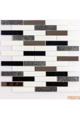Prado Fileli Kristal Cam Mozaik Metal Kaplama 013