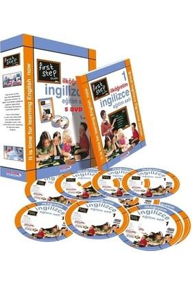 First Step İlköğretim İngilizce Seti 5 DVD + 1 Kitap
