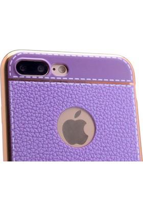 Zore Apple iPhone 7 Plus Lazer Deri Kılıf