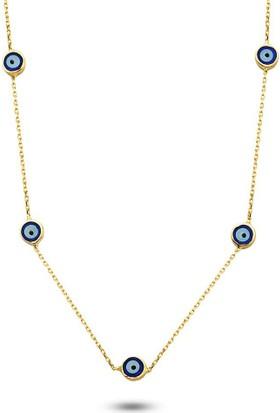 Bella Gloria Nazarlı Altın Zincir (Pp78334)