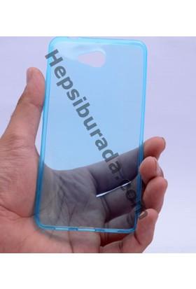 Case 4U Casper Via A1 0.2mm Ultra İnce Silikon Kılıf Mavi