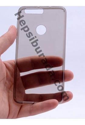 Case 4U Huawei Honor 8 0.2mm Ultra İnce silikon Kılıf Füme