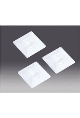 Entes Ts2-1-3030N 28X28Mm Kroşe Yapışkanlı Beyaz