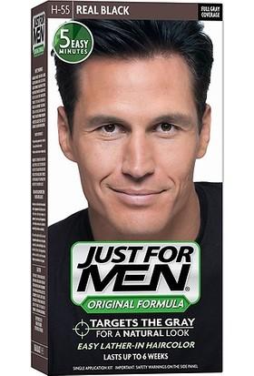 Just For Men Saç Boyası Real Black H-55 Siyah