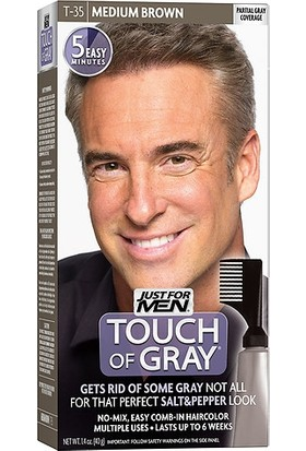 Just For Men Touch Of Grey T-35 Orta Kahve Rengi Saç Boyası