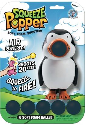 Squeeze Popper Penguin Popper Top Fırlatma Oyuncağı