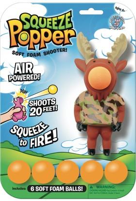 Squeeze Popper Moose Popper Top Fırlatma Oyuncağı