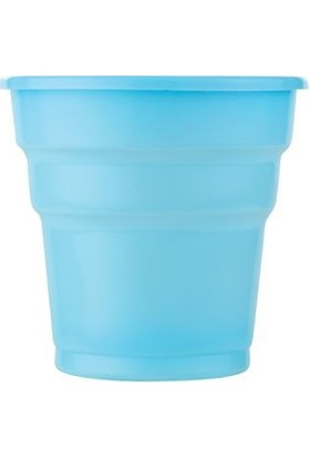 Partistok Mavi Plastik Meşrubat Parti Bardağı 25 Adet