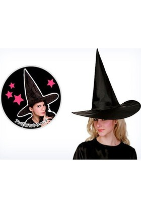 Partistok Siyah Cadı Şapkası