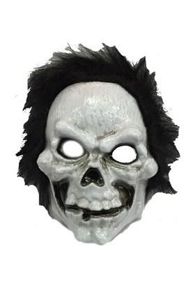 Partistok Cadılar Bayramı Peluşlu İskelet Maske