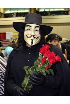 Partistok V For Vendetta Maskesi