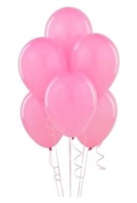 Partistok Metalik Pembe Balon 25 Adet
