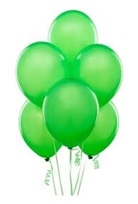 Partistok Yeşil Balon 25 Adet