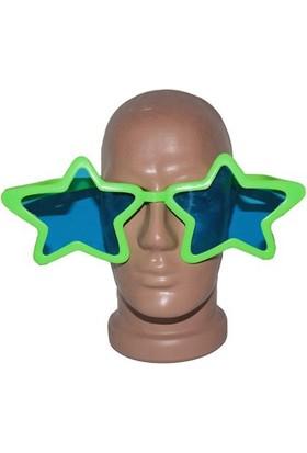 Partistok Büyük Yıldız Parti Gözlüğü Yeşil