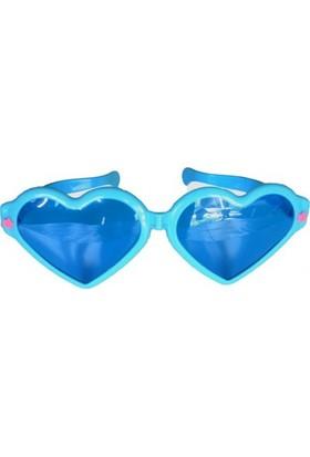 Partistok Büyük Kalp Parti Gözlüğü Mavi