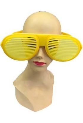 Partistok Büyük Panjur Parti Gözlüğü Sarı