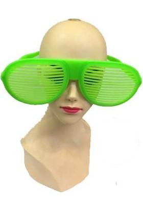 Partistok Büyük Panjur Parti Gözlüğü Yeşil