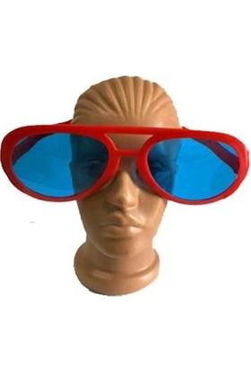 Partistok Büyük Parti Gözlüğü Kırmızı