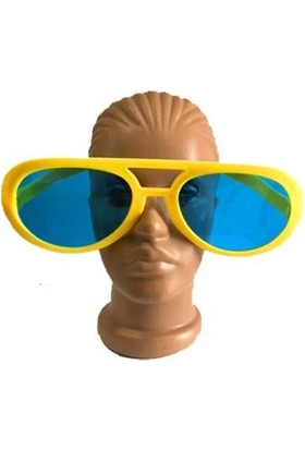 Partistok Büyük Parti Gözlüğü Sarı