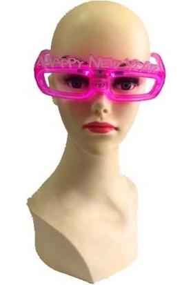 Partistok Işıklı Yılbaşı Gözlüğü Pembe