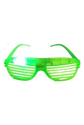 Partistok Işıklı Panjur Parti Gözlüğü Yeşil