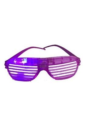 Partistok Işıklı Panjur Parti Gözlüğü Mor