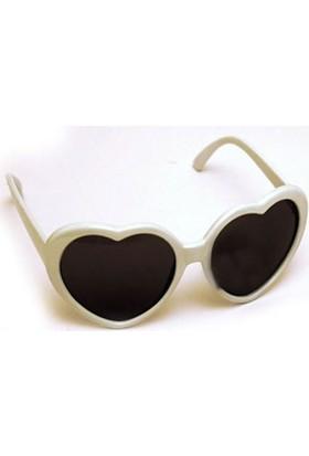 Partistok Kalpli Parti Gözlüğü Beyaz