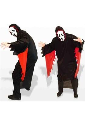 Partistok Halloween Çığlık Kostümü Yetişkin