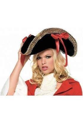 Partistok Korsan Şapkası Bayan