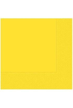 Partistok Sarı Peçete 20 Adet