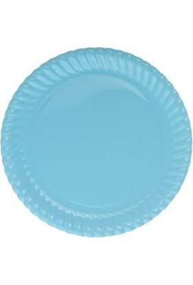Partistok Mavi Karton Parti Tabağı 8'li