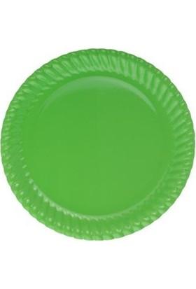 Partistok Yeşil Karton Parti Tabağı 8'li