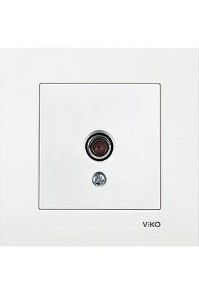 Viko Karre Beyaz Tv Prizi Sonlu (Çerçeveli)