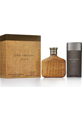 John Varvatos Artisan Edt 125Ml Erkek Parfüm + 75Ml Deodorant Set
