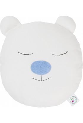 Baby Muu Erkek Ayı Şeklinde Bebek Dekoratif Yastık