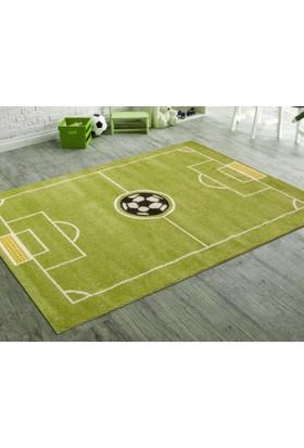 Odeon Çocuk Odası Halısı 120X170 Cm, Futbol Topu Sahası, Odeon Kolek.