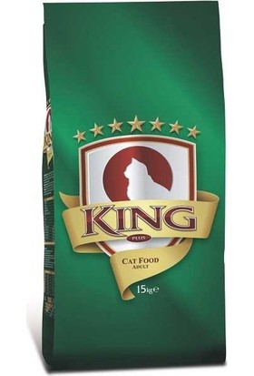 King Yetişkin Kedi Maması 15 Kg