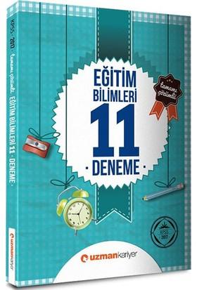 Uzman Kariyer Yayınları 2017 Eğitim Bilimleri Tamamı Çözümlü 11 Deneme